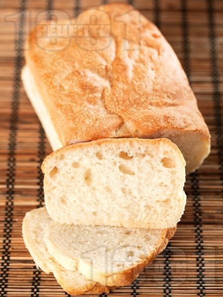 Чабата - класически италиански хляб - снимка на рецептата